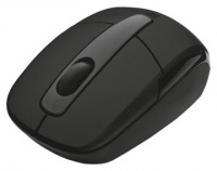 Мышь Trust Wireless Mini Travel Mouse black mini USB (40/480)
