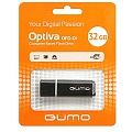 Флэш-диск QUMO 32 Gb Optiva-01 Black