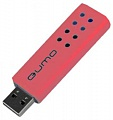 Флэш-диск QUMO 16 Gb Domino-red (10)