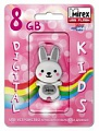 Флэш-диск Mirex 08 Gb Kids-RABBIT Grey (Кролик) (5)