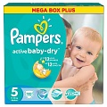 PAMPERS Подгузники Active Baby Junior (11-18 кг) Мега Плюс Упаковка 126\132