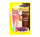 FRISKIES Cat КвП Гов&Мор 100г