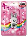Флэш-диск Mirex 04 Gb Kids-RABBIT Grey (Кролик) (5)