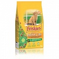 FRISKIES INDOOR д/домашних кошек Курица, Ов, Трава 2кг