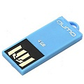 Флэш-диск QUMO 04 Gb Sticker Blue